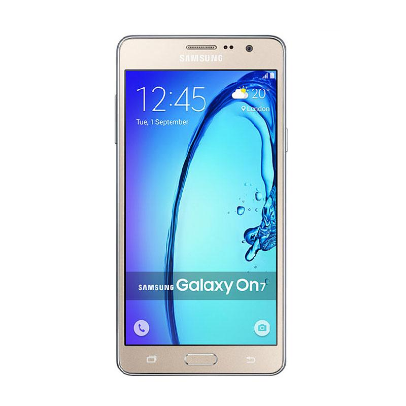 Samsung Galaxy On7 Smartphone - Gold [8GB/ 1.5GB]