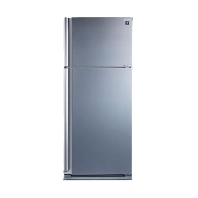 SHARP SJIP860NLVSL Two Door Refrigerator