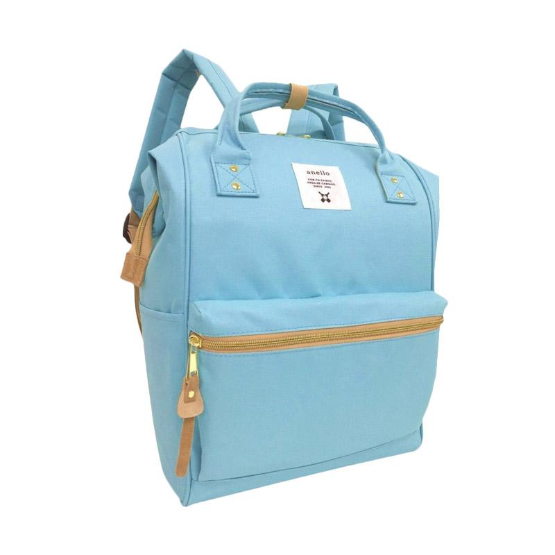 Anello Oxford Backpack Tas Ransel - Sax [Size L]