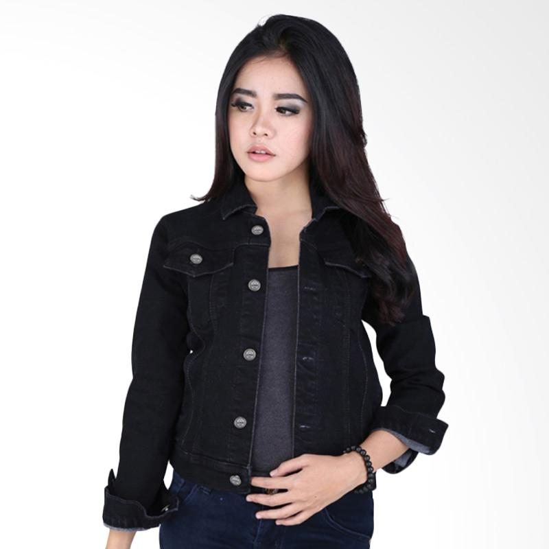 harga Catenzo Cherie BE 066 Jaket Couple Denim Wanita Blibli.com