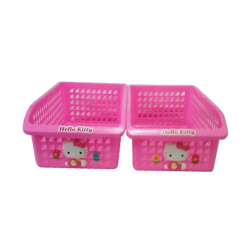Hello Kitty Cute HK Rak Susun 2 - Pink