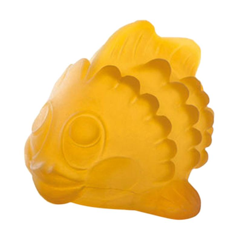 Hevea Natural Rubber Bath Toy Polly The Fish Mainan Anak