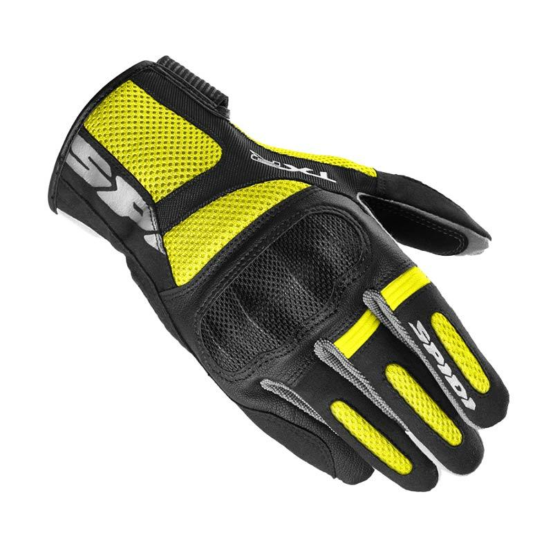 Spidi TXR Sarung Tangan Full - Yellow Fluo