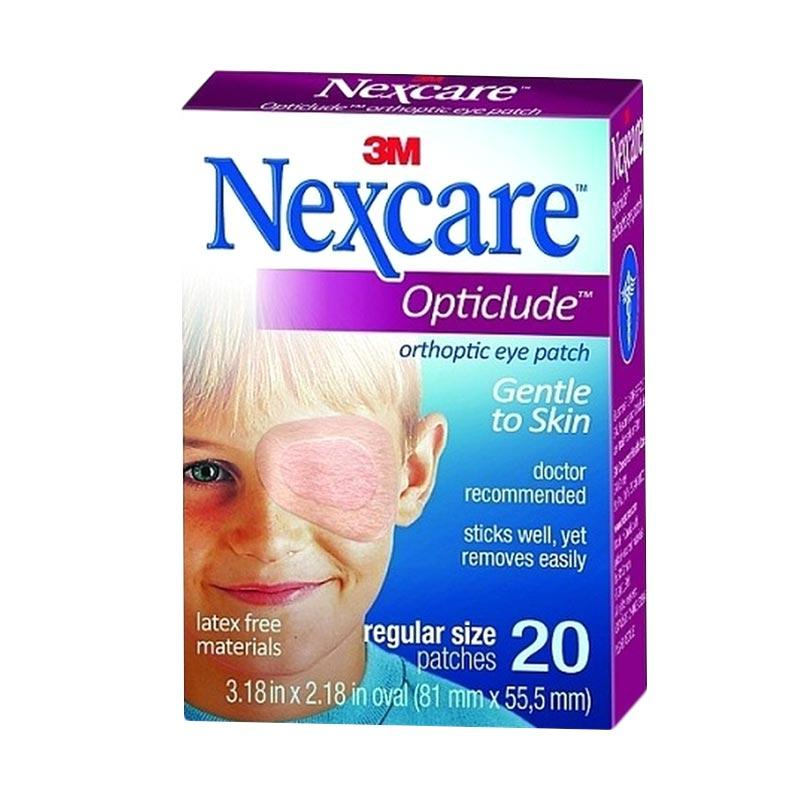 3M Nexcare Plester Penutup Mata Regular - Cokelat