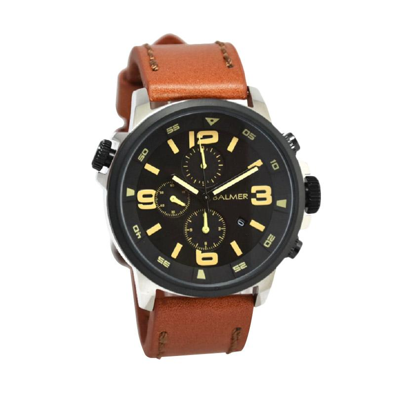 Balmer B.7903M Jam Tangan Pria - Light Brown Silver