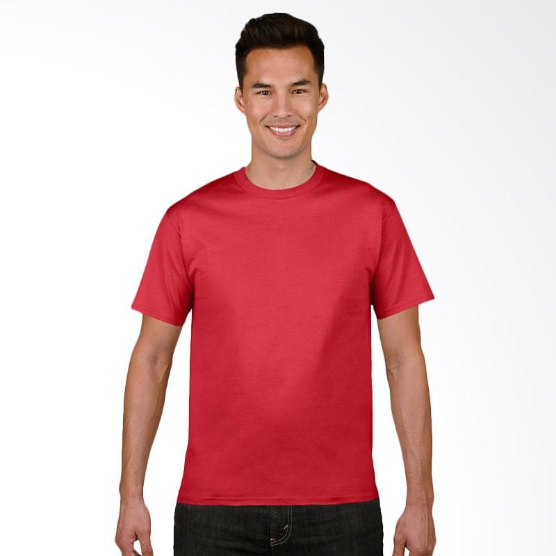 Gildan Original SoftStyle T-Shirt Pria - Red
