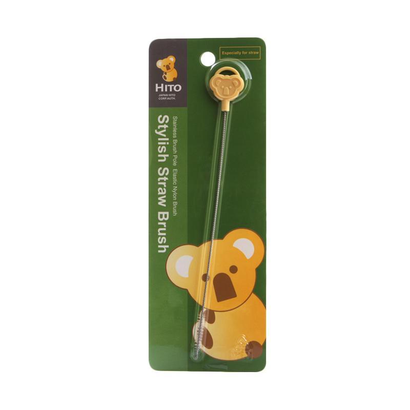 Hito Straw Brush Sikat Sedotan Bayi - Kuning