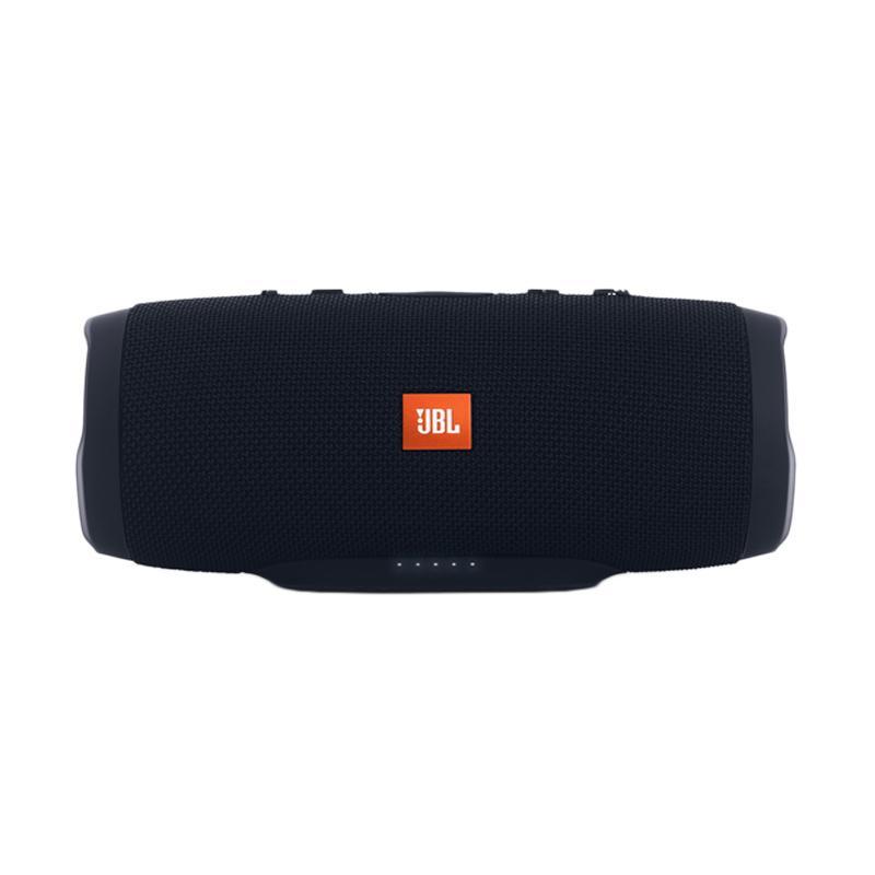 JBL Charge 3 Waterproof Bluetooth Speaker - Hitam