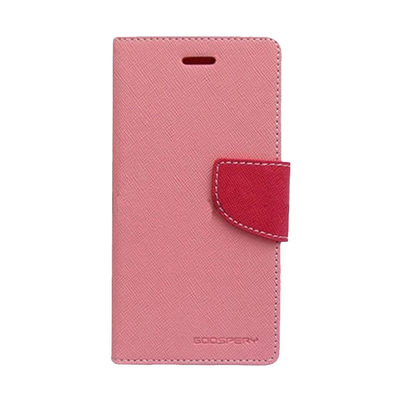 Mercury Fancy Diary Casing for iPhone 5 - Pink Magenta