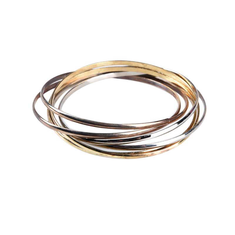 1901 Jewelry Abriana Bracelet GL.203.HR17 Gelang - Gold