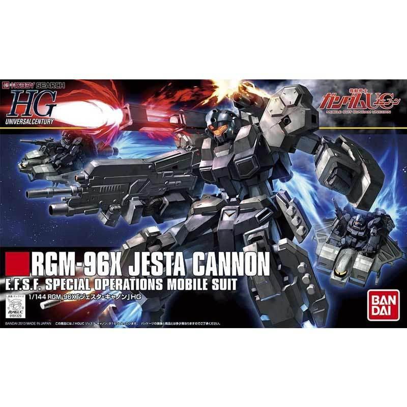 Bandai HGUC RGM-96X Jesta Cannon Gundam Model Kit [1:144]