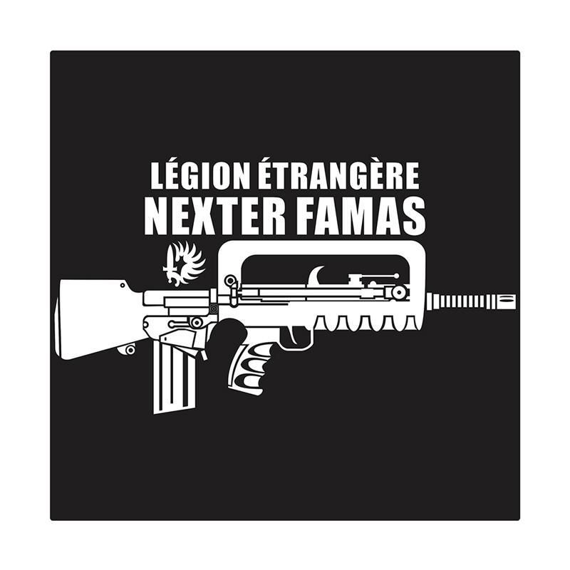 Kyle Famas Bullup Assault Rifle Cutting Sticker