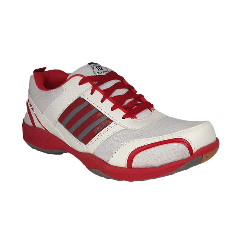 Mikado PK 03 Running Sneakers Shoes - White Red