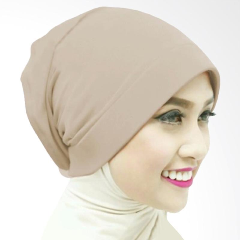 Milyarda Naura Hijab Ciput - Coklat Muda