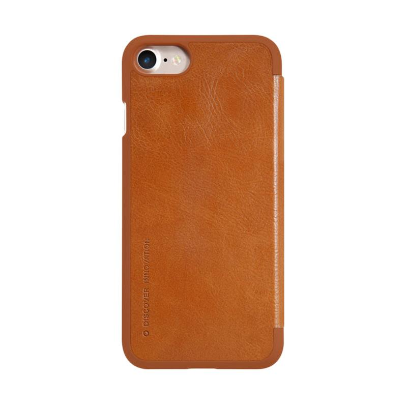 Nillkin Qin Leather Casing for iPhone 7 - Brown