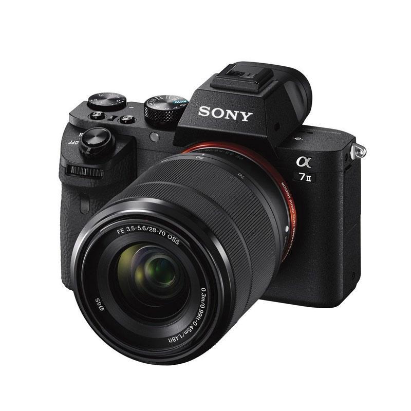 JPC KEMANG Sony Alpha A7 mark II Kit 28 70mm Sony A7 mark ii Sony A7 ii Sony A7ii Sony Alpha 7 ii GARANSI RESMI