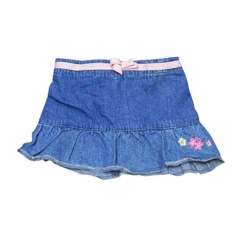 Wonderland Rok Jeans Pita Pink Rok Anak
