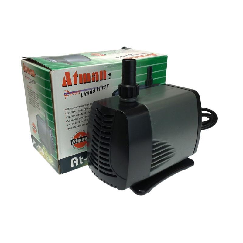 harga Atman AT-105 Pompa Air Hidroponik Akuarium - Hitam Blibli.com