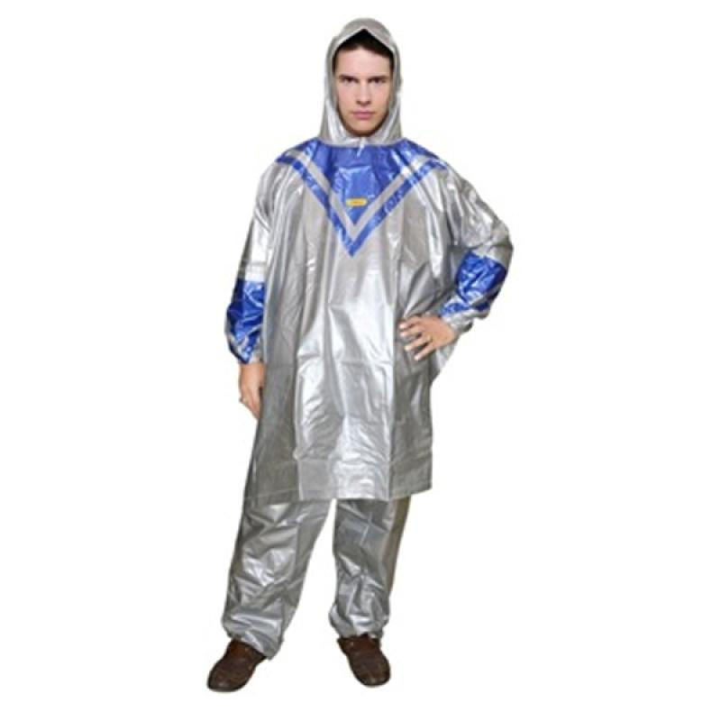 Rainwear Poncho Platinum Jas Hujan - Biru
