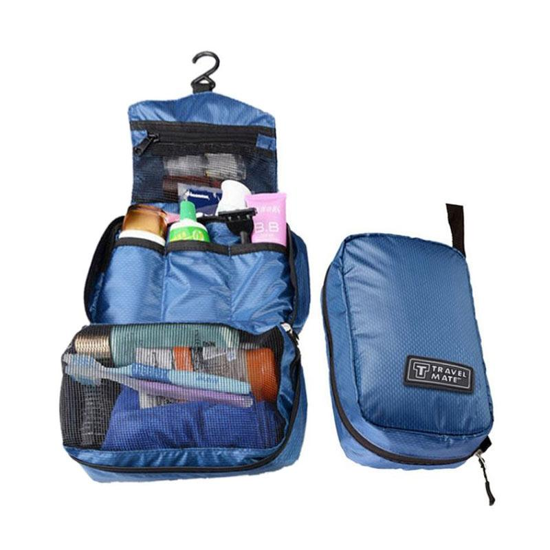 Travel Mate Toilet Organizer Bag - Biru