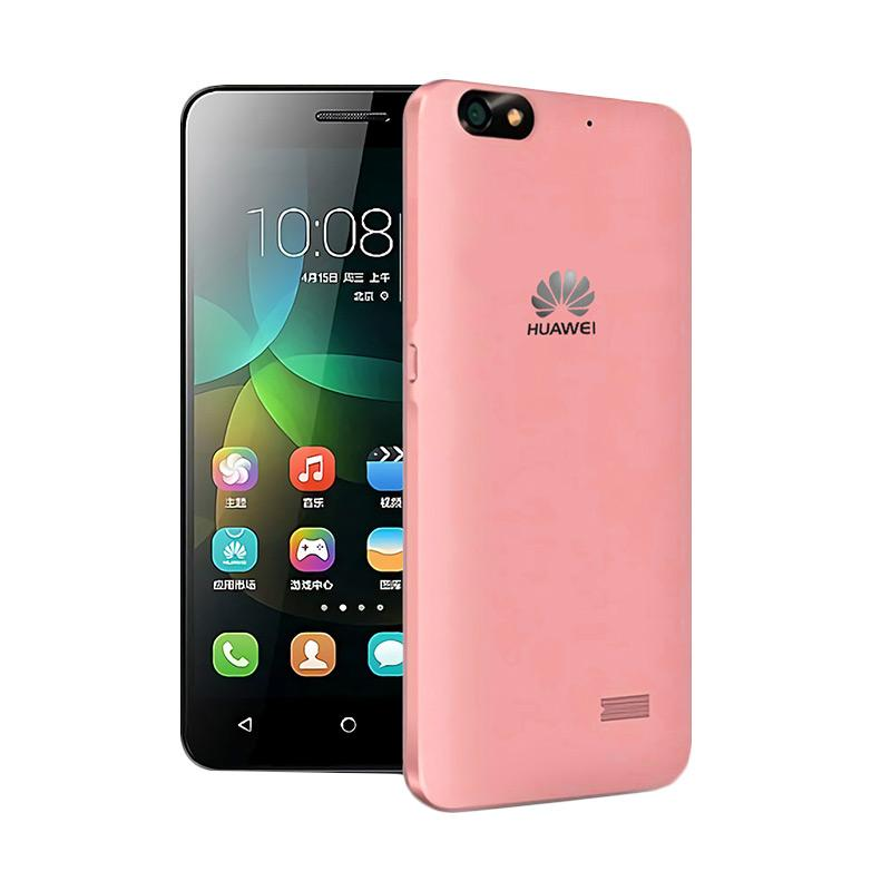 Ultrathin Aircase Casing for Huawei Honor 4c - Red Clear