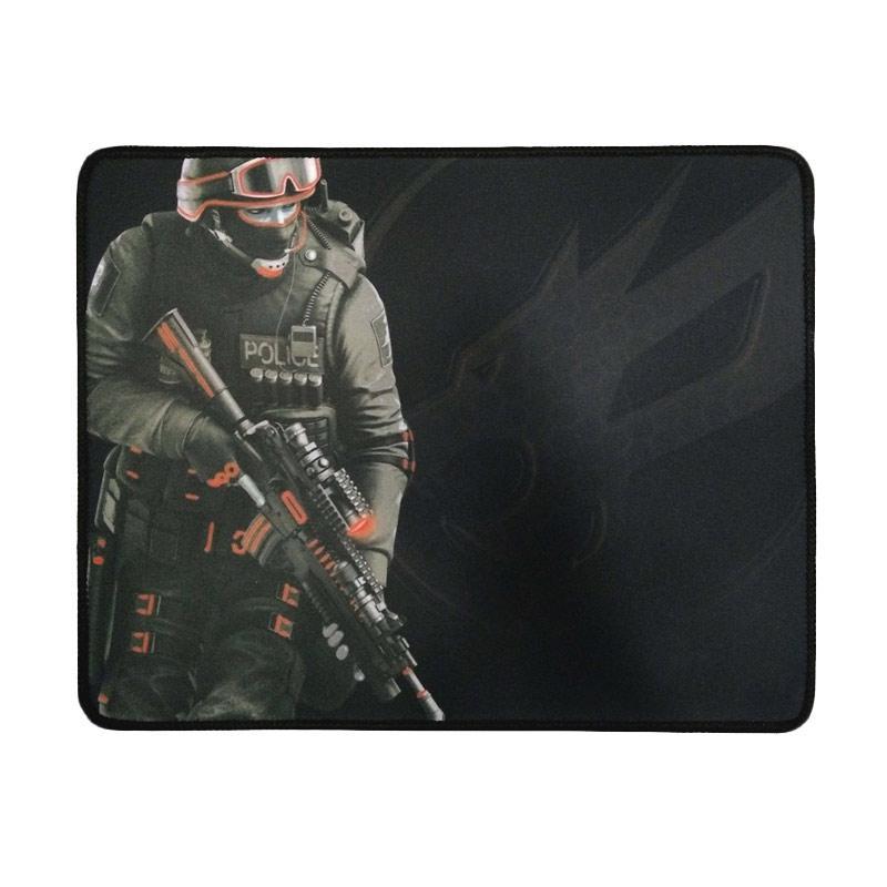Warwolf Large Army Mousepad Gaming - Merah