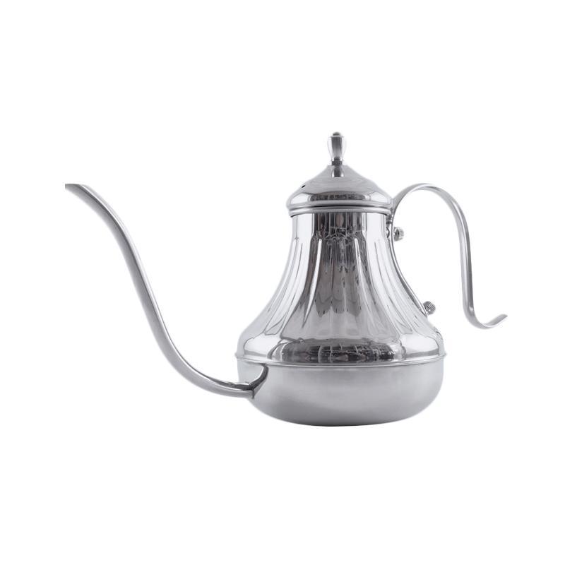 Worcas Aladin Leher Angsa Kettle - Silver [650 mL]