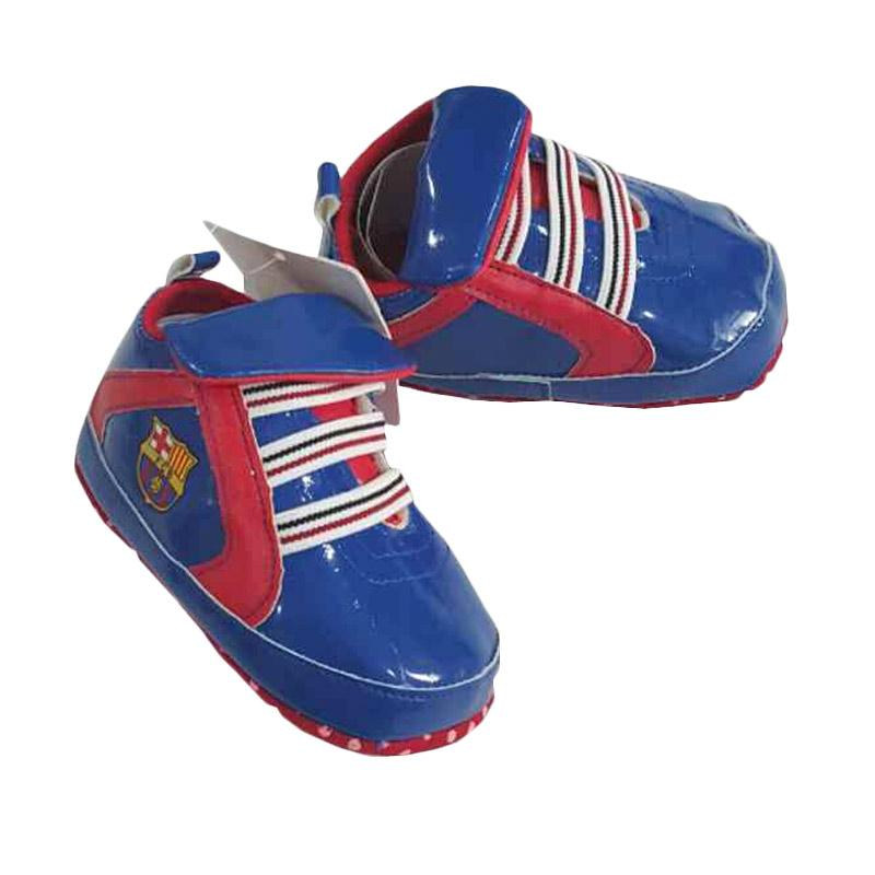 Chloebaby Shop S24 Barca Baby Walker Sepatu Bayi - Blue