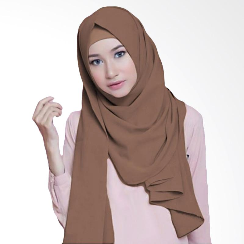 Kus Group Hijab Diamond Pashmina - Coklat