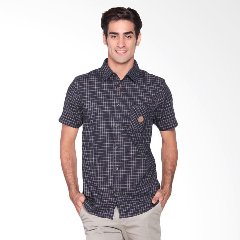 Famo Fit Classic Shirt Kemeja Pria - Blue 508031711