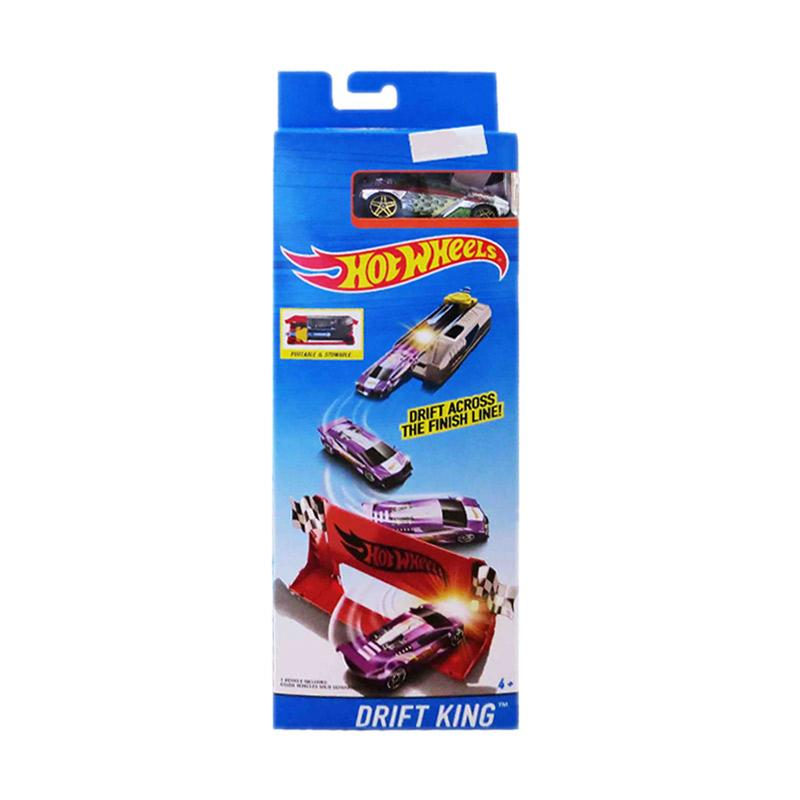 harga Hot Wheels Drift King Drift Across The Finish Line Track Set Blibli.com