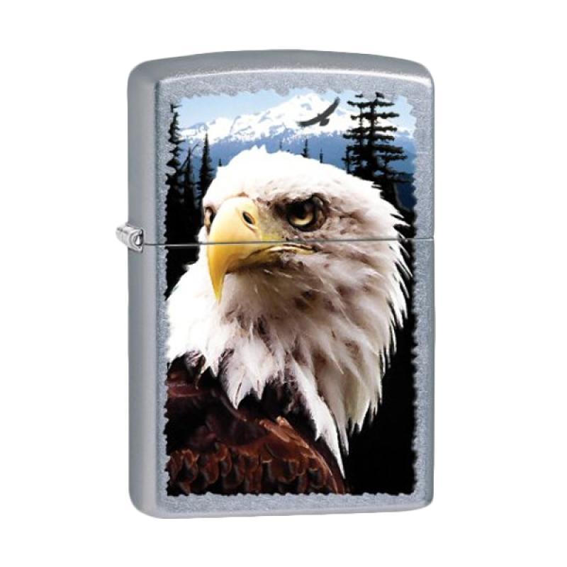 Zippo Street Chrome Eagle Lighter