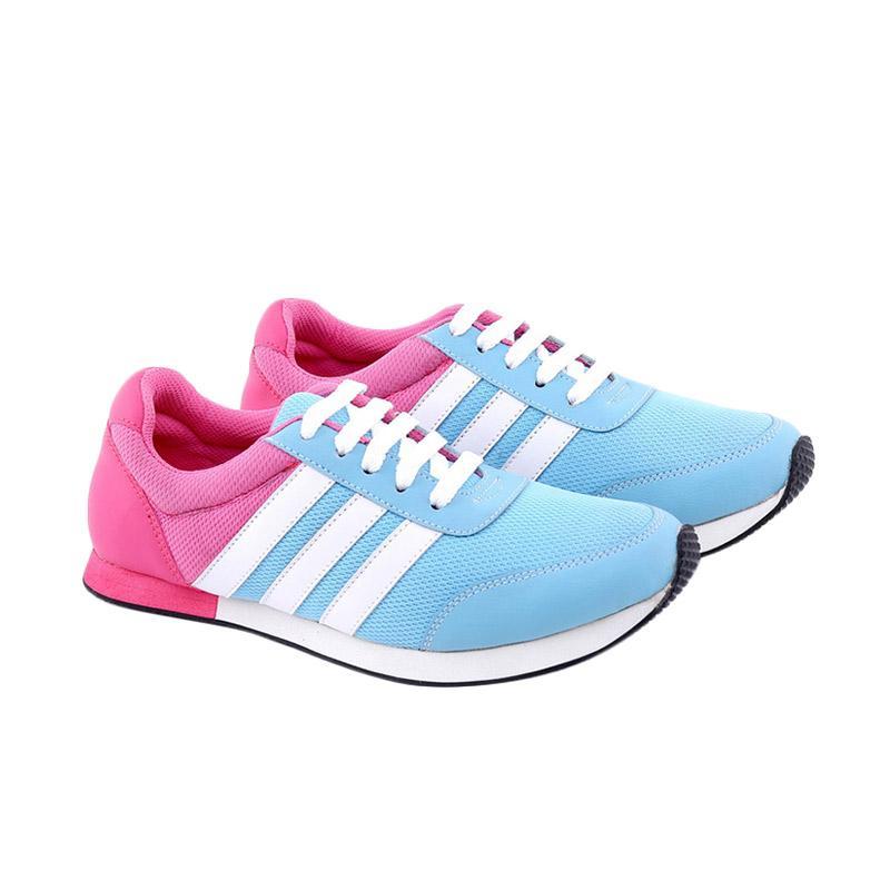 Garucci Running Shoes Sepatu Lari Wanita - Blue GDF 7224