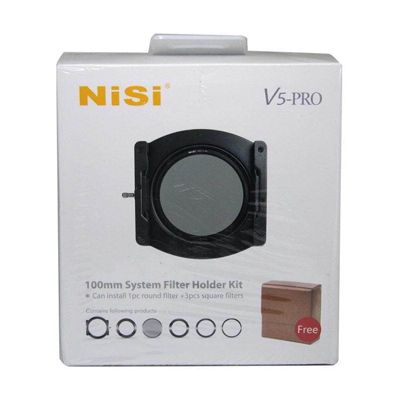 harga NiSi V5 PRO 100mm Aluminum Filter Holder Kit - BKP Blibli.com