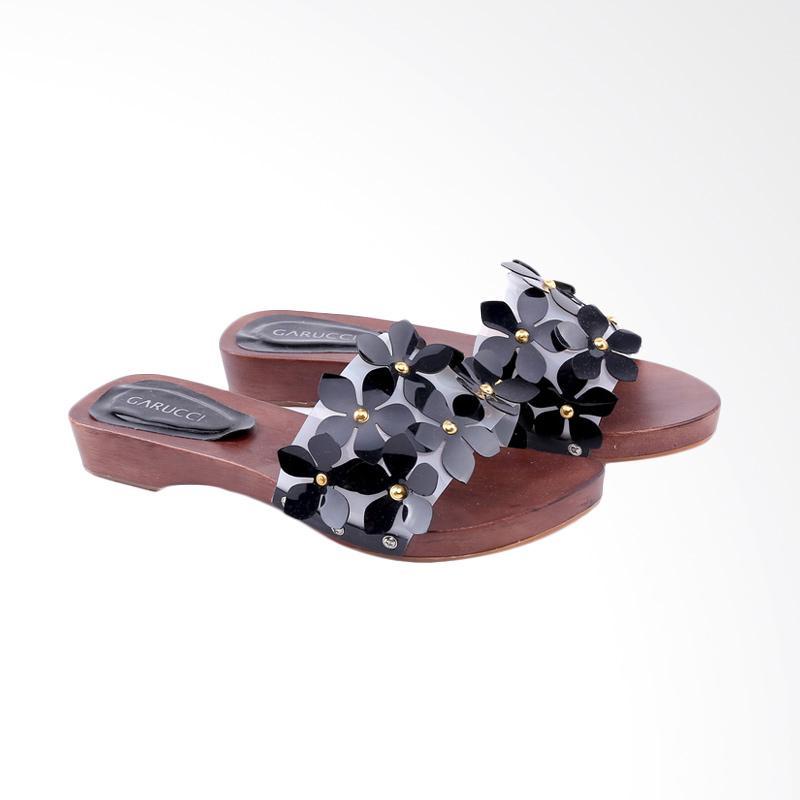 Garucci GKI 7295 Sandal Heels Wanita - Black
