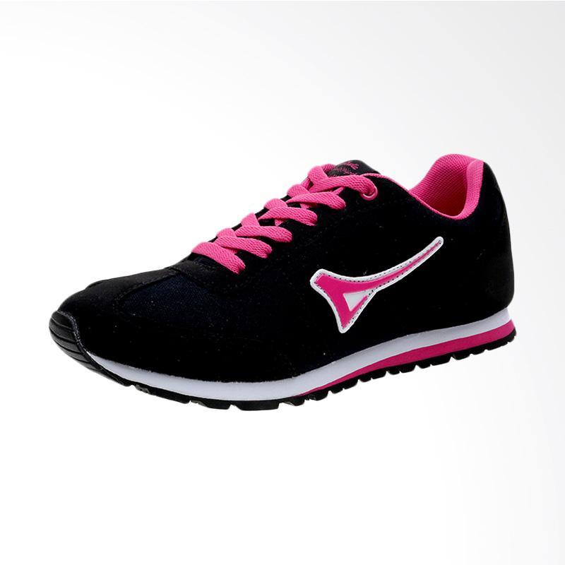 Diskon Harga Ardiles Kalia Sepatu Sneakers Wanita - Black Pink Online Shop Terbaru
