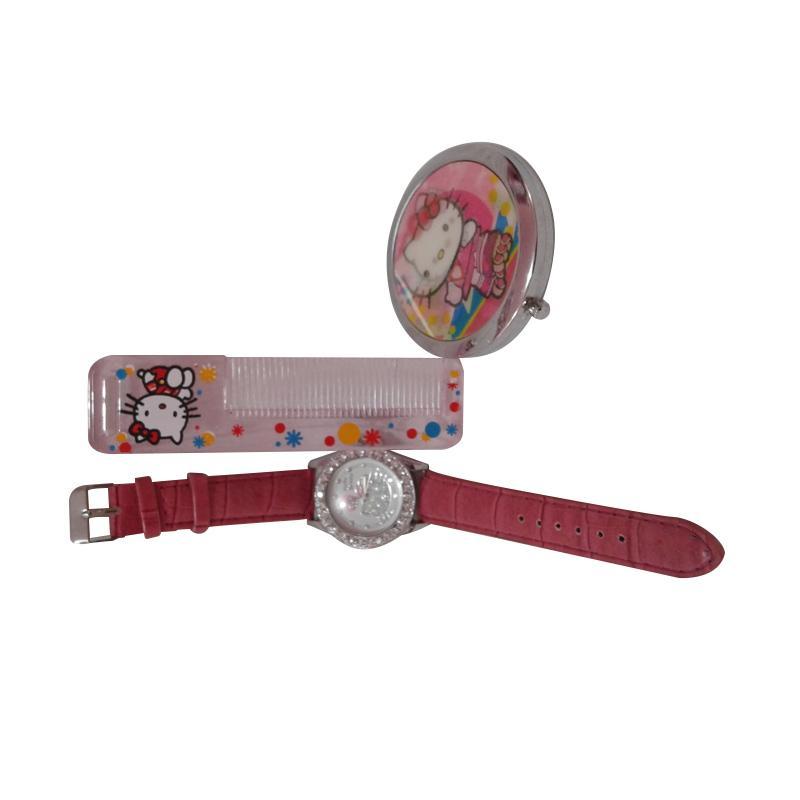Hello Kitty HK-003 Paket Dandan Jam Tangan Wanita - Multicolor