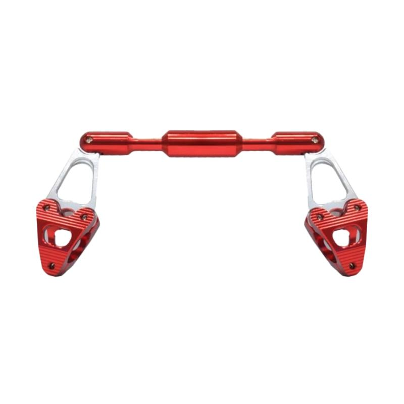 Raja Motor SCT-6093 CNC Steering Dumper Palang Setang Motor Universal - Merah [ACT6108-Merah]