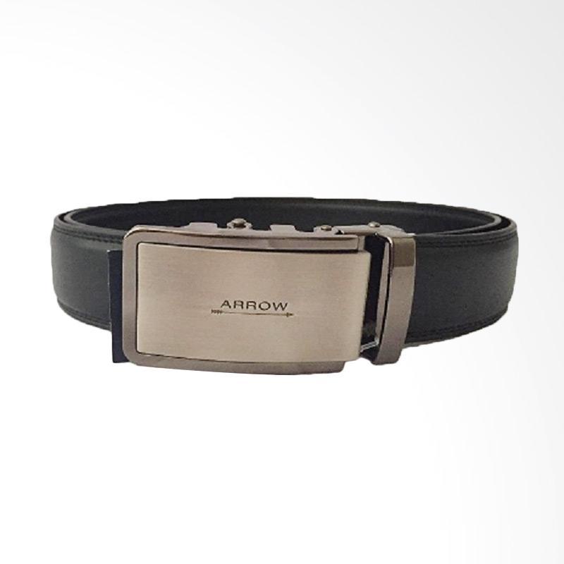 Arrow Leather Belt Ikat Pinggang Pria - Hitam [BP-AR2124SRA28-ZD5-446SR]