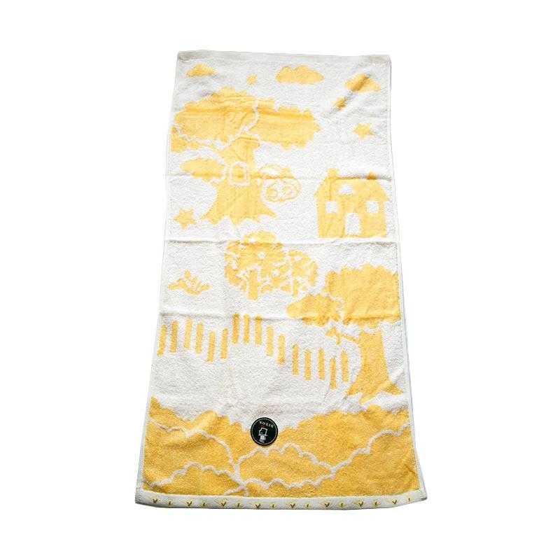 Dixon Lovely Garden House 7067 Handuk Sport - Yellow [35 x 80 cm]