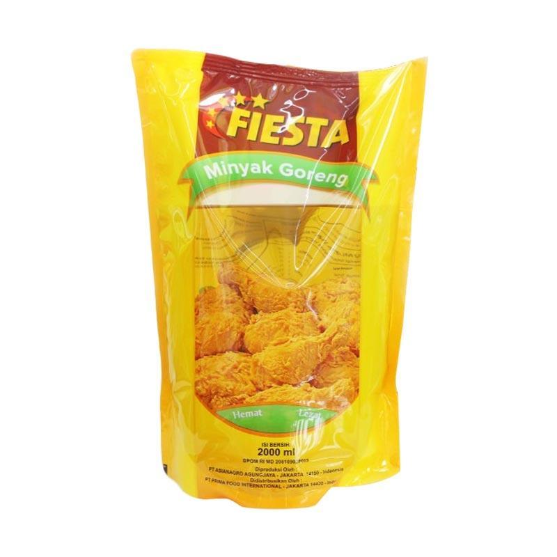 Fiesta Minyak Goreng Pouch @2 L/ [4 pcs]