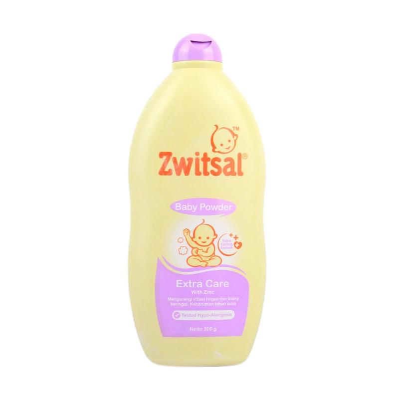 Zwitsal Baby Powder Extra Care with Zinc Bedak [300 g]