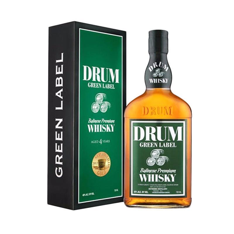 DRUM Whisky Green Label Minuman