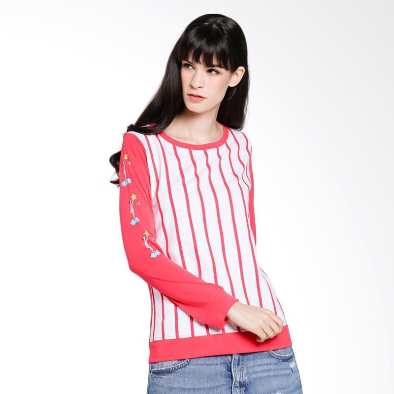 Cressida TYSC.862351 Ladies Sweatshirt Atasan Wanita - Red