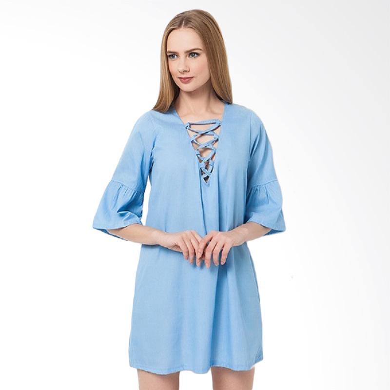 Boontie Yoshi Mini Dress - Blue