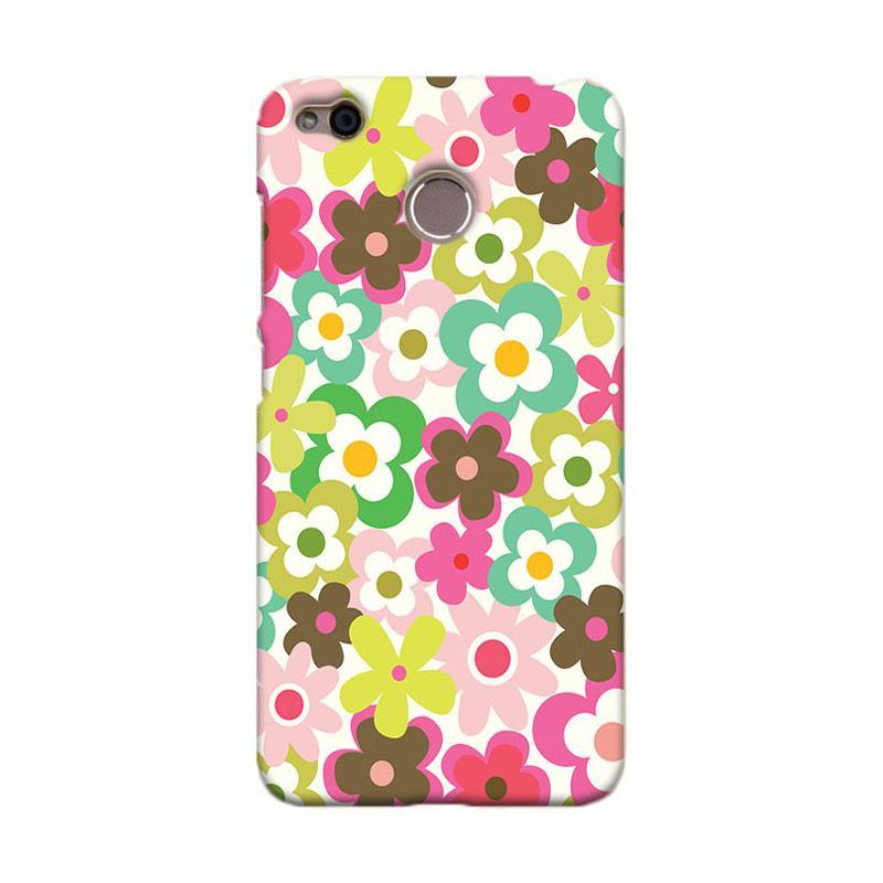 Premiumcaseid Cute Colorful Flower Hardcase Casing for Xiaomi Redmi 4X