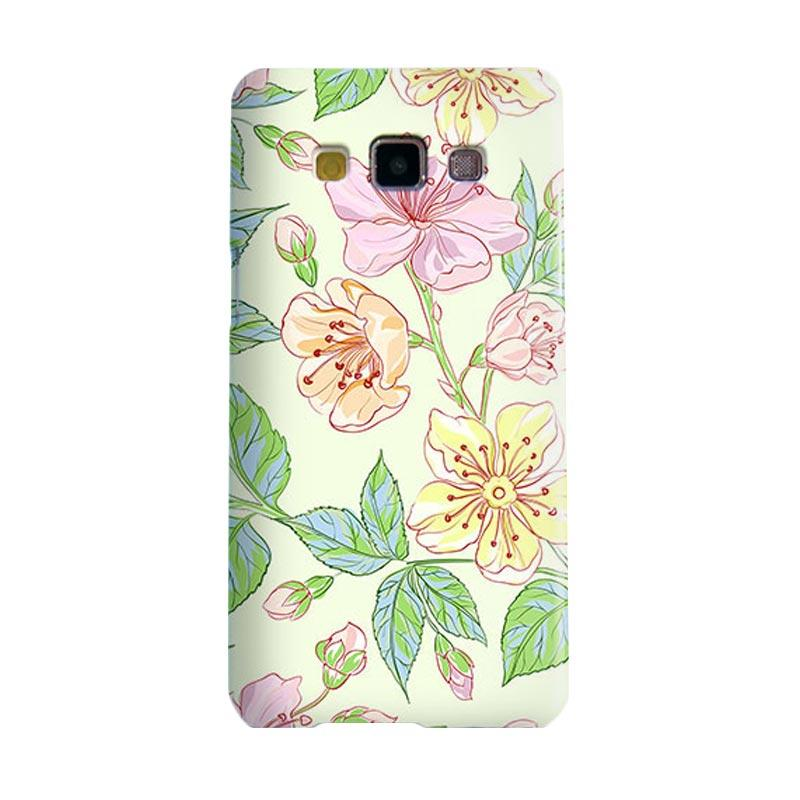Premiumcaseid Beautiful Flower Wallpaper Cover Hardcase Casing for Samsung Galaxy A3