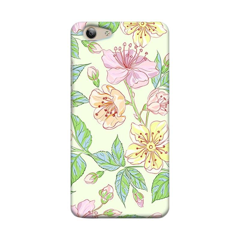 Premiumcaseid Beautiful Flower Wallpaper Hardcase Casing for Vivo Y53