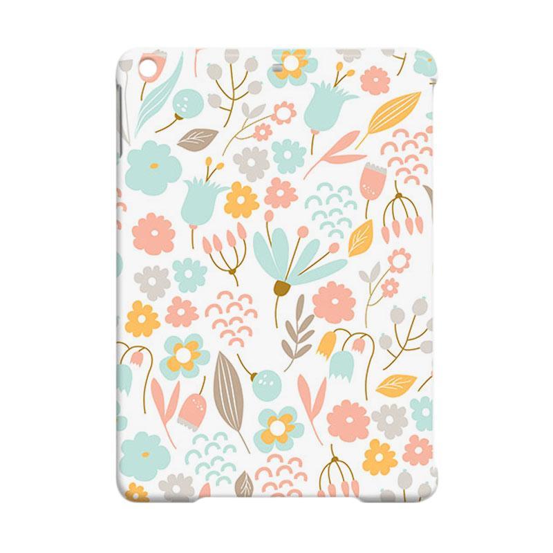 Premiumcaseid Cute Pastel Shabby Chic Floral Hardcase Casing for iPad Mini 2 or iPad Mini 3