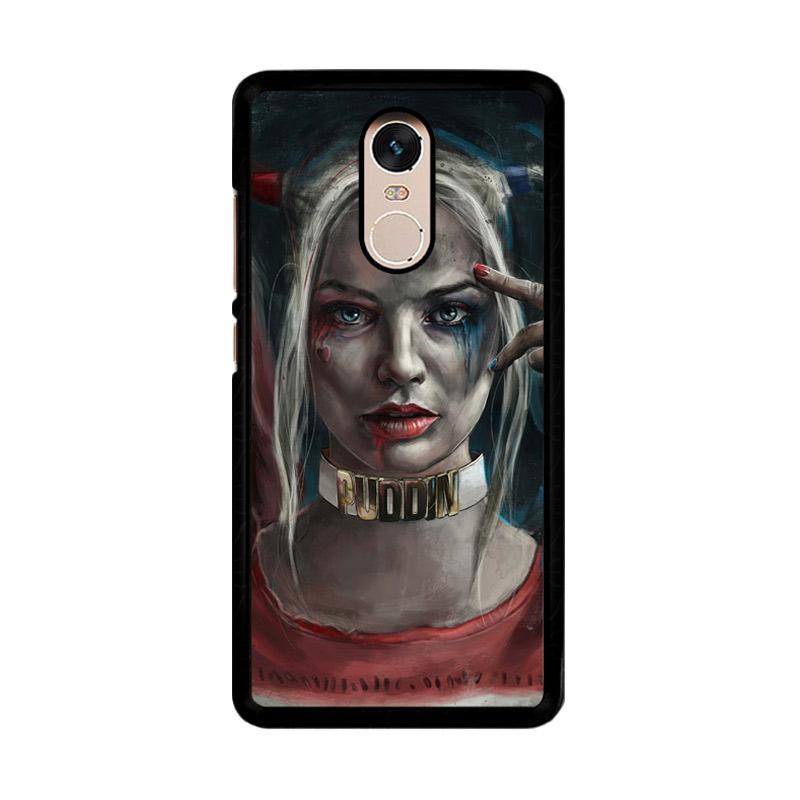 Flazzstore Harley Quinn O0314 Custom Casing for Xiaomi Redmi Note 4 or Note 4X Snapdragon Mediatek